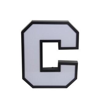 "Privilege LED Letter ""C"" Wall Decor"
