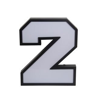 Privilege LED Number 2 Wall Decor