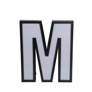 Privilege LED Letter M Wall Decor