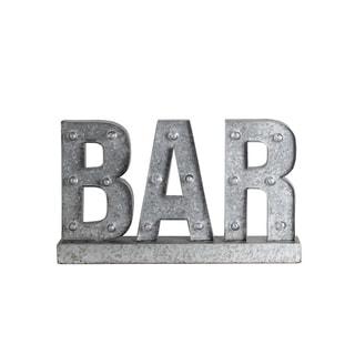 Privilege 'BAR' LED Metal Word Board