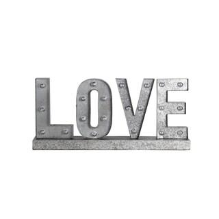 Privilege 'Love' LED Metal Word Board