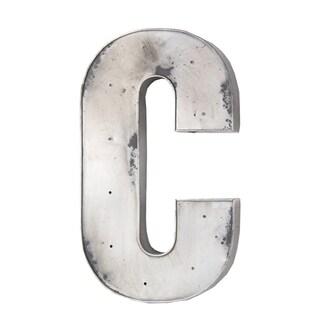 Privilege Metal LED Silver Letter C Design