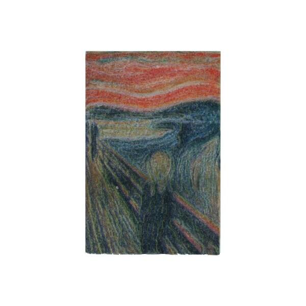 Edvard Munch 'The Scream' 3D Printed Magnet