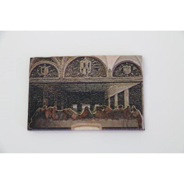 Leonardo da Vinci 'Last Supper' 3D Printed Magnet
