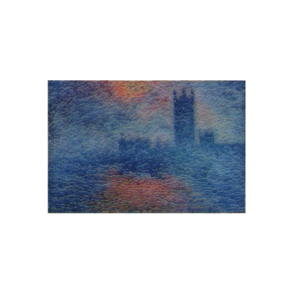 Claude Monet 'Houses of Parliament' 3D Printed Magnet