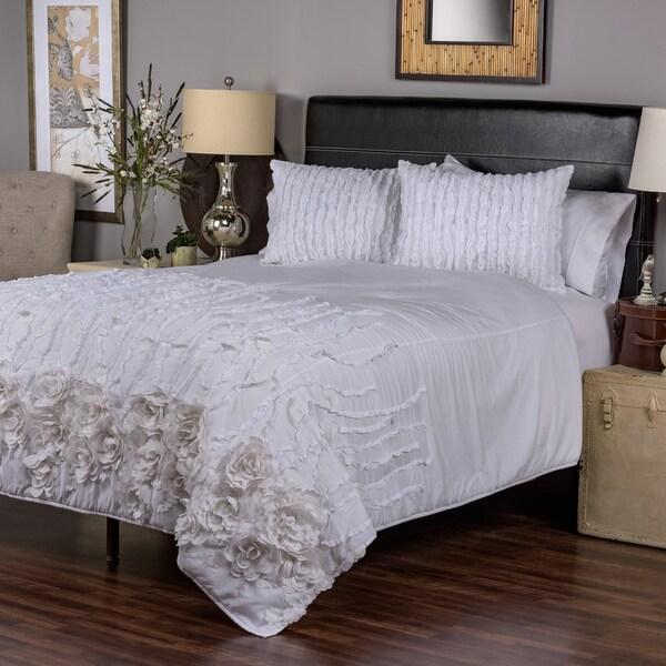 Kalyana White Collection Quilt By Arden Loft