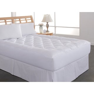 Rest Remedy Diamond Loft Cotton Mattress Pad