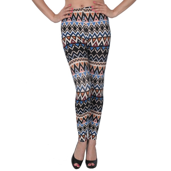 Women's Colorful Geometric Printed Legging