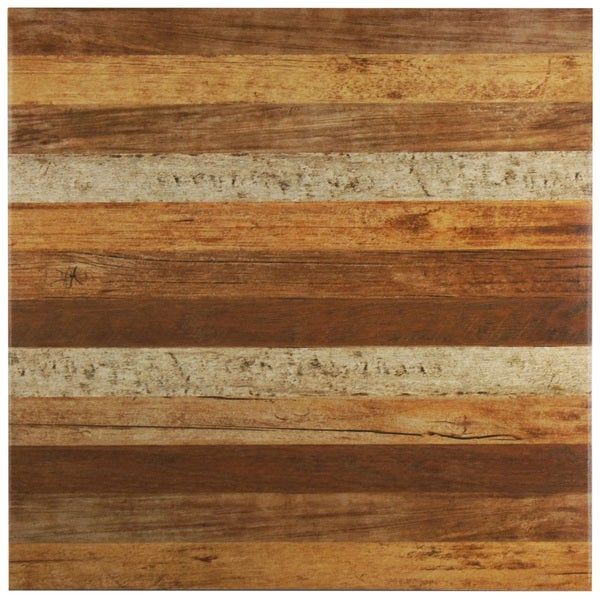 SomerTile 17.75x17.75-inch Ottawa Natural Ceramic Floor and Wall Tile (Case of 10)