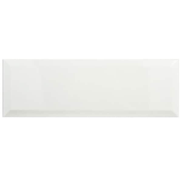 SomerTile 4x12-inch Thera Loft Blanco Ceramic Wall Tile (Case of 34)