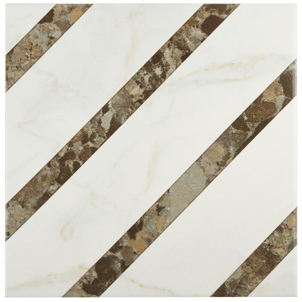 Somertile 12x12 inch kozani colonial ceramic floor and for 13 inch ceramic floor tile