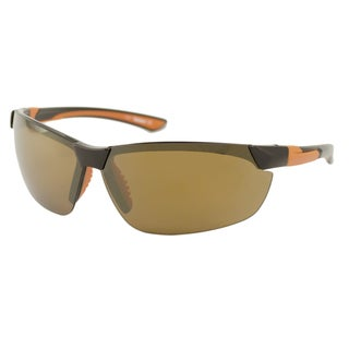 Timberland TB9069 Men's Polarized/ Wrap Sunglasses