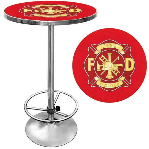 Fire Fighter Pub Table