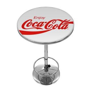 Enjoy Coke White Pub Table
