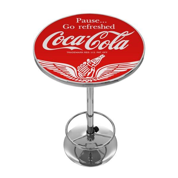 Wings Coca Cola Pub Table 17722629 Overstock Com