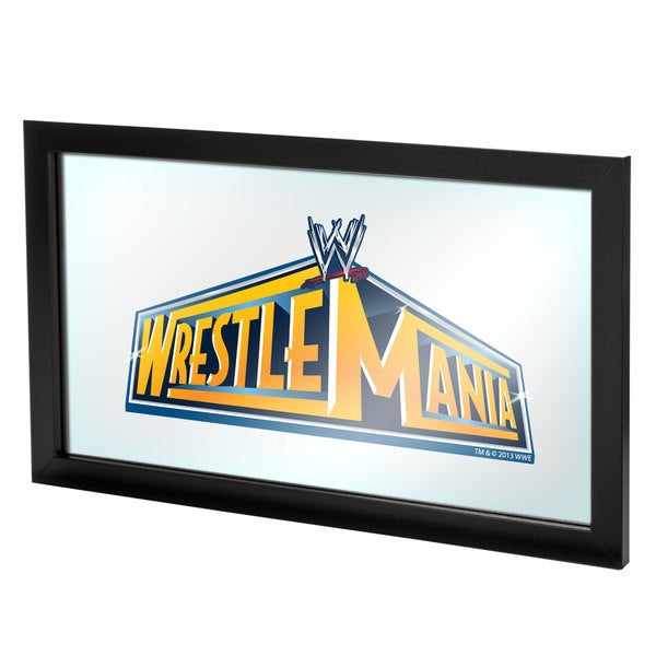 WWE Wrestlemania 29 Framed Logo Mirror