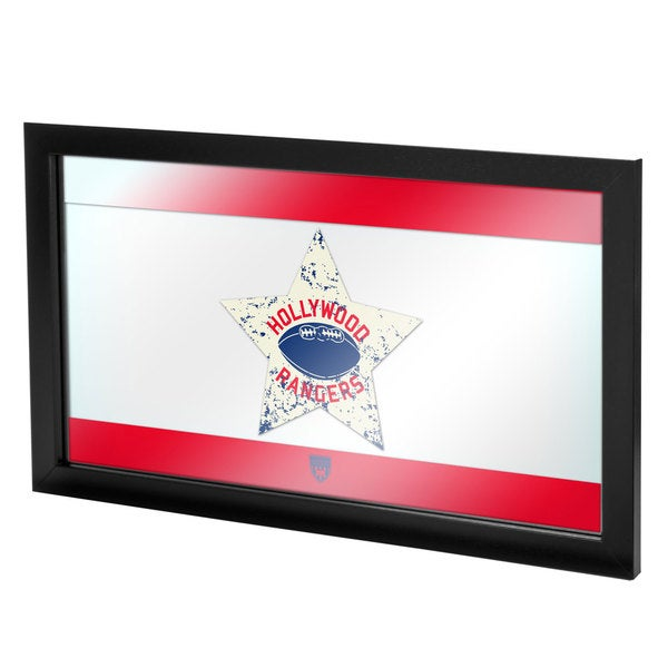 VAF Hollywood Rangers Framed Logo Mirror