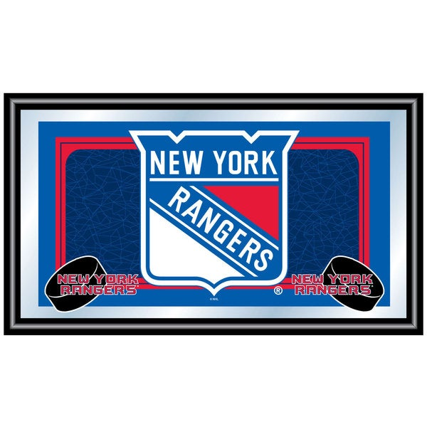 New York Rangers Framed Team Logo Mirror