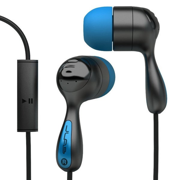 Jlab Jbuds Noise Reducing Mic HiFi Earbuds- Blue/Black