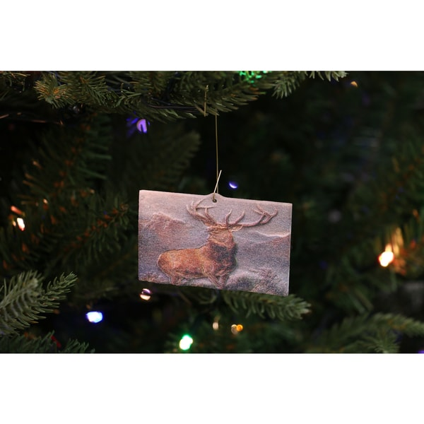 Sir Edwin Landseer's 'Monarch of the Glen' 3D Printed Ornament