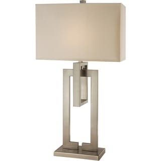 Precision Brushed Nickel Table Lamp