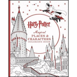 Harry Potter Magical Places & Characters (Paperback)