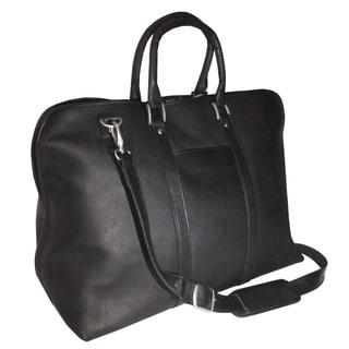 Royce Leather Columbian Leather 23-inch Luxury Travel Duffel Bag