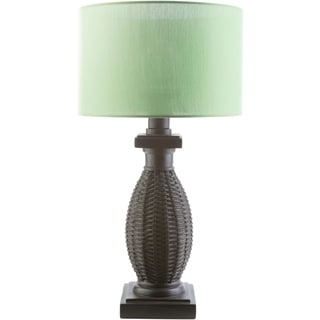 Rustic Mandy Table Lamp with Natural Finish Resin Base