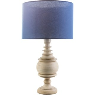 Traditional Louth Table Lamp with Antique Resin Base