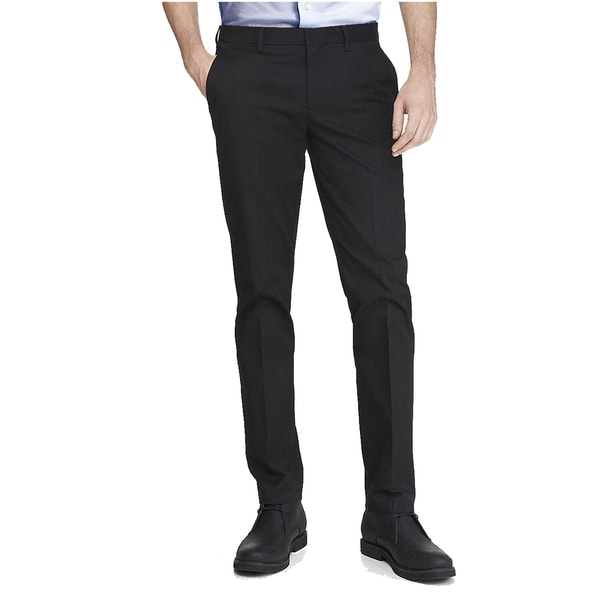 Elie Balleh Men's Slim Fit Dress Pants Size 36 in Navy (As Is Item)