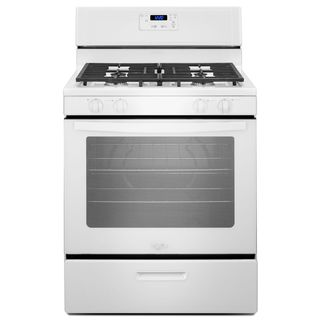 Whirlpool 30-inch Freestanding Gas Range with Broiler Drawer