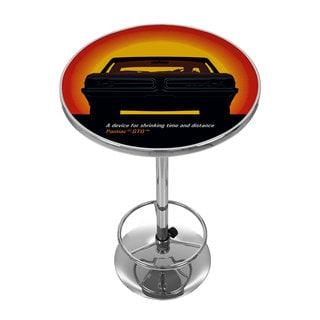 Pontiac GTO - Time & Distance - Chrome Pub Table