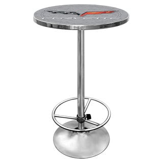 Corvette C6 Pub Table - Silver