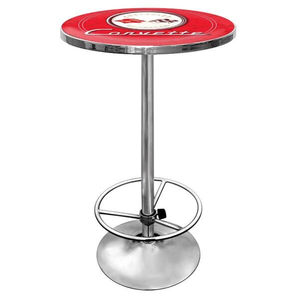 Corvette C1 Pub Table - Red