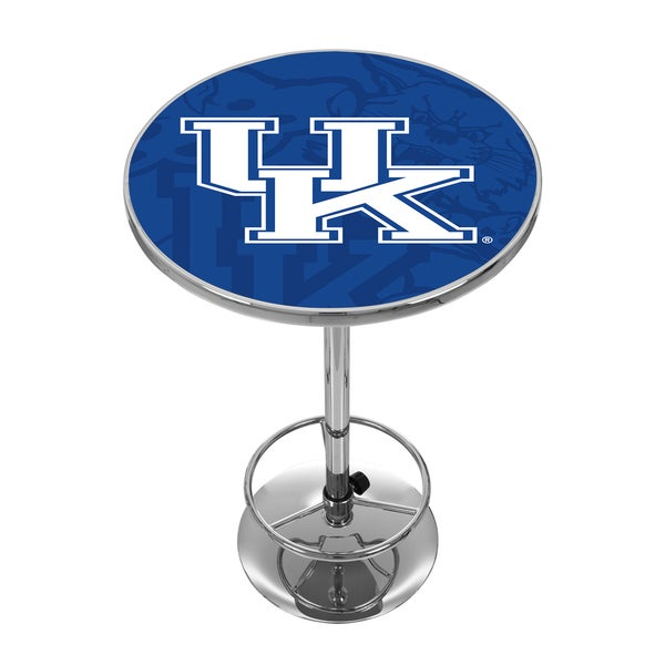University of Kentucky Chrome Pub Table - Fade