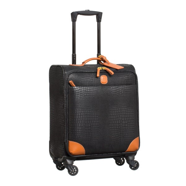 Bric's My Safari Black 20-inch Wide-body Carry On Spinner Suitcase