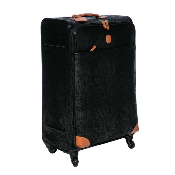 Bric's BAY04596.001 My Safari Black 30-inch Spinner Suitcase