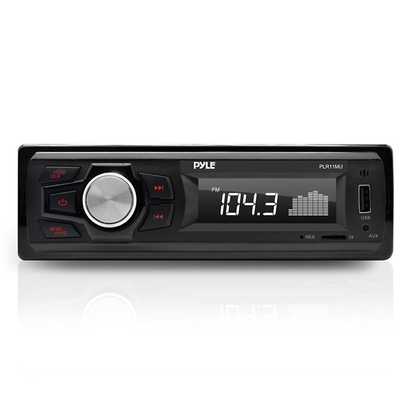 Pyle PLR11MU In-dash Radio/ MP3/ USB/ Micro SD/ AUX Single DIN Headunit Stereo Receiver