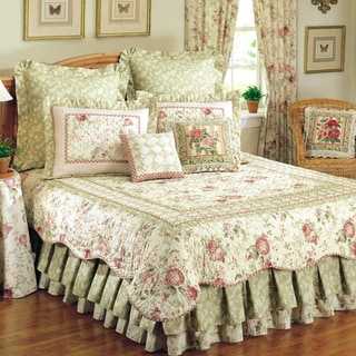 Chantelle Cotton Reversible Quilt and Sham Seperates