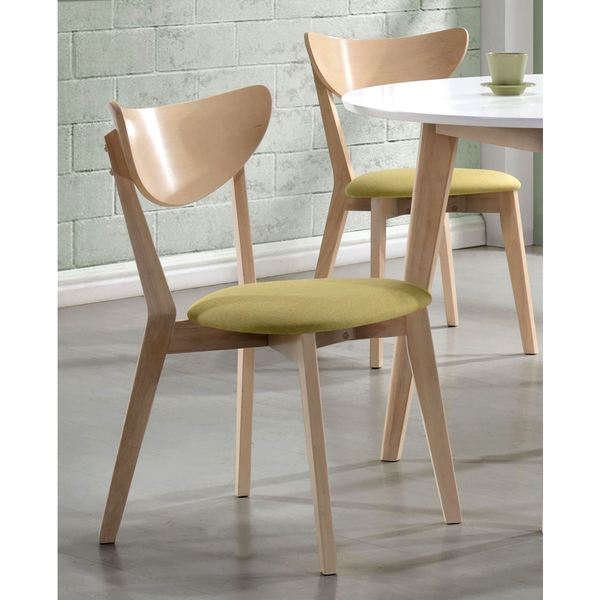 Peony Retro Danish Design Dining Chairs (Set of 2)