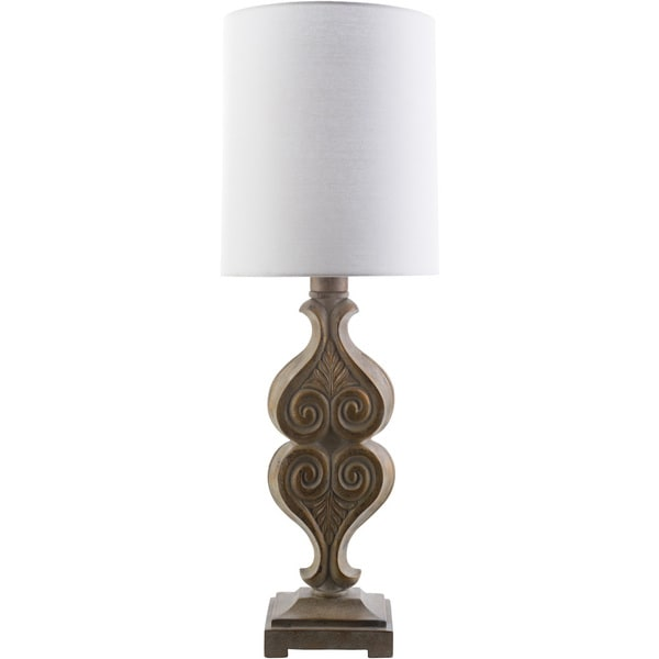Traditional Luton Table Lamp with Oxidized Resin Base