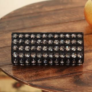 Handcrafted Beaded 'Dazzle Me' Clutch Evening Bag (India)