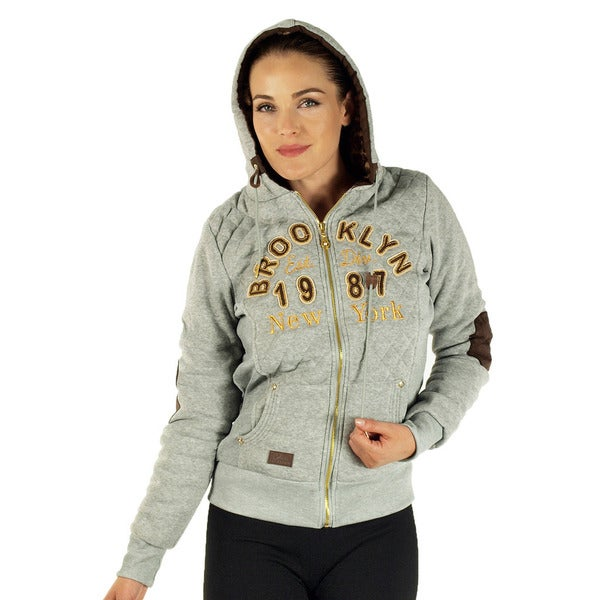Women's Heather Grey Brooklyn Jacket