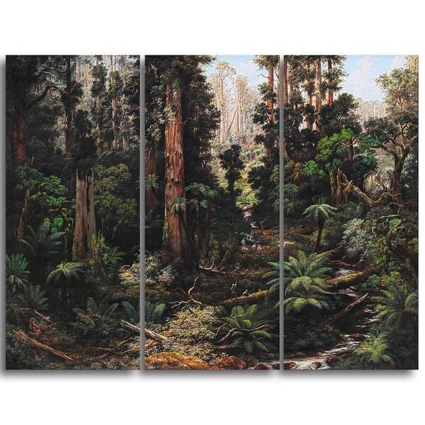 Design Art 'Isaac Whitehead - In the Sassafras Valley' Canvas Art Print