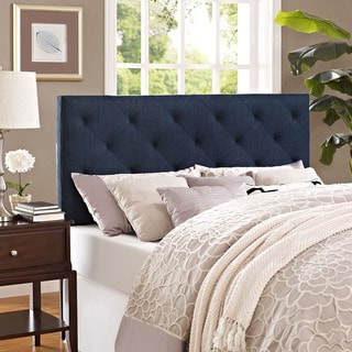 Modway Theodore Fabric Headboard in Navy