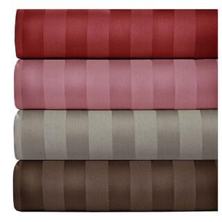 500 Thread Count Cotton Blend Striped Sheet Set