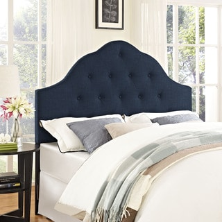 Modway Sovereign Fabric Headboard in Navy