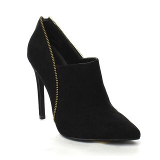 Beston Yuri-04 Women's Stylish Slip On Stiletto Heels Pointed Ankle Booties