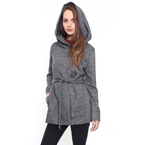Beston Junior's Chic Grey Belted Coat