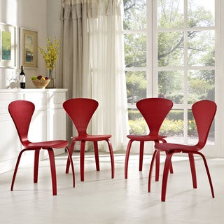 Modway Vortex Dining Chairs (Set of 4)